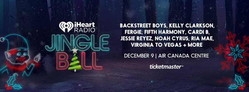 2017 iHeartRadio Jingle Ball: Air Canada Centre-December 9 2017